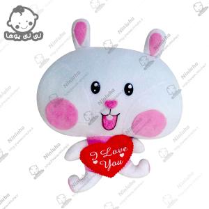 خرید عروسک استیکر خرگوش تپل
