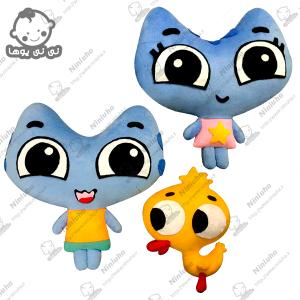 خرید عروسکهای جوجه اردک ، کاتیا و کوتیا-کارتون گربه ها حمله(کارتون کیت کیت بازیگوش)