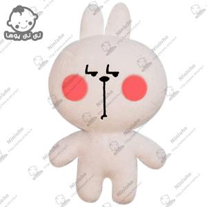 خرید عروسک استیکر خرگوش جدی تلگرام