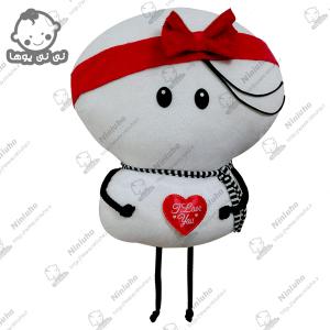 خرید عروسک آویز استیکر بارداری تلگرام