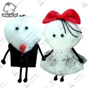 خرید عروسک آویز استیکر عاشقانه تلگرام