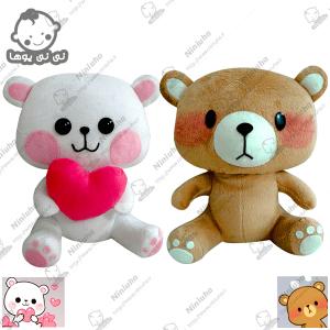 خرید عروسک استیکر خرس و موش تلگرام