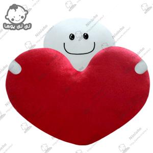 خرید استیکر کله گردالی قلب به دست