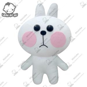 خرید عروسک استیکر خرگوش غمگین