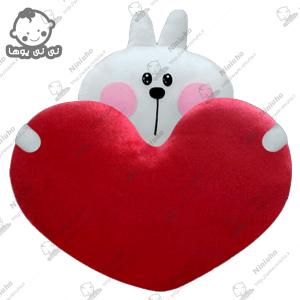 خرید استیکرخرگوش قلب به دست