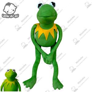 عروسک کرمیت قورباغه  kermit the frog