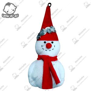 خرید آویز آدم برفی کریسمس
